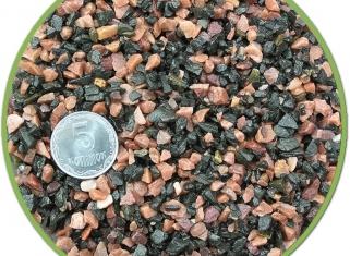 NechayZOO - Грунт Чорно-Розовий (Дрібніий), 2кг