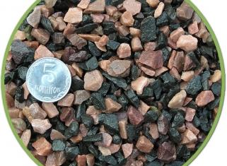 NechayZOO - Грунт Чорно-Розовий (Середній), 2кг