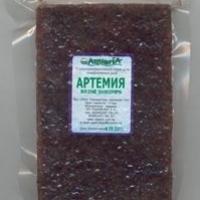 Заморожений корм AQUARIA - Артемія
