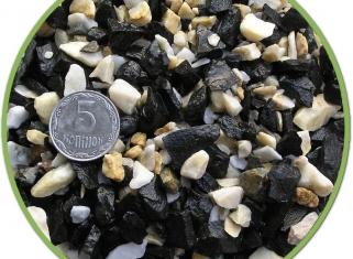 NechayZOO - Грунт Чорно-Білий (Середній), 10кг