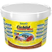 Корм Tetra Cichlid Colour Mini 10л